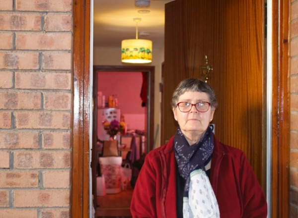 Queens Cross tenant Linda Burton was one of the first people to benefit from the new Total Homes partnership.